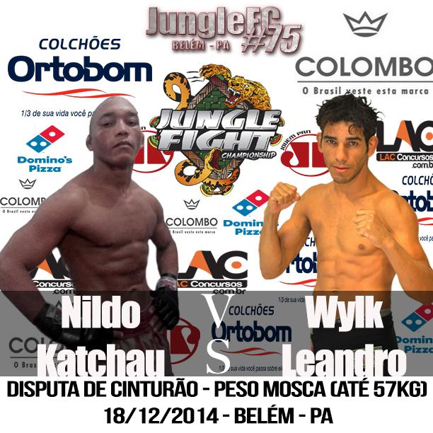 Katchal e Leandro fazem a luta principal do evento. Foto: Divulgação