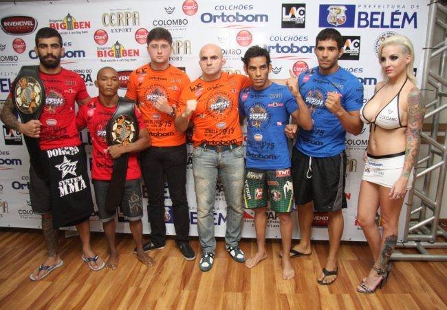 Campeões e desafiantes batem peso para o Jungle Fight em Belém