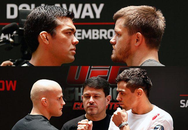 Vídeo: As encaradas de Machida, Barão e demais brasileiros para o UFC Barueri