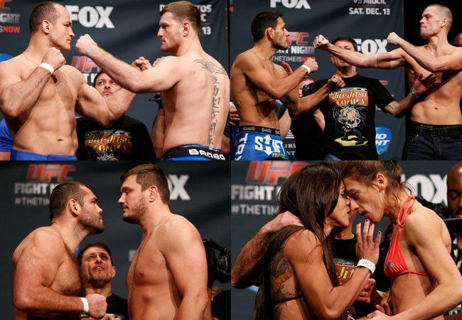 Confira os resultados do UFC: Cigano x Miocic