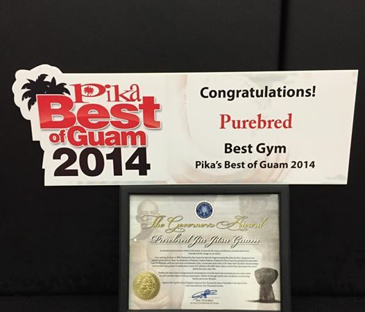 GMA Purebred Jiu-Jitsu Guam receive governor's award, voted best gym in Guam