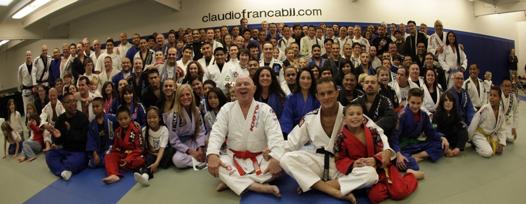 The Claudio Franca Team. Photo: Claudio Franca BJJ