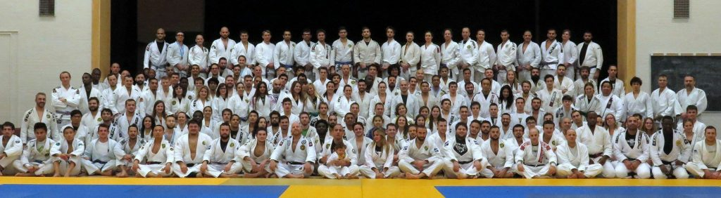 The whole team at Toronto BJJ and other affiliates. Photo: Personal archive