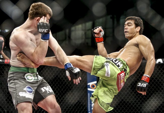 UFC Fight Night: Machida TKO's Dollaway in 62 seconds, Barão submits Gagnon; watch highlights