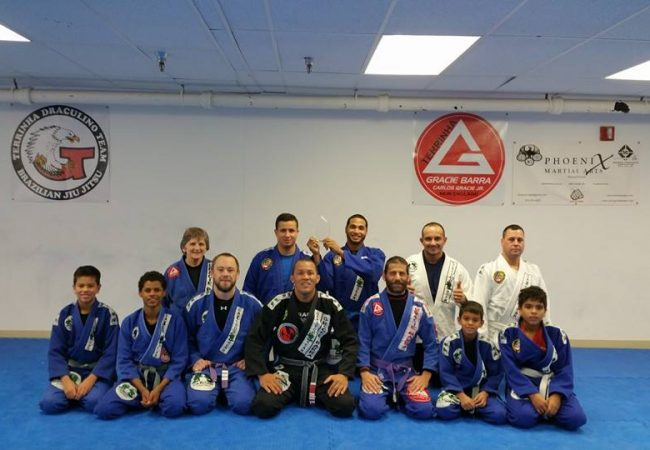 Carlos Terrinha opens new school in Norwood, MA under Gracie Barra banner
