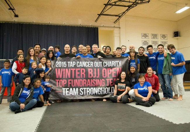 Over $16,000 raised for childhood cancer research from Tap Cancer Out Winter BJJ Open