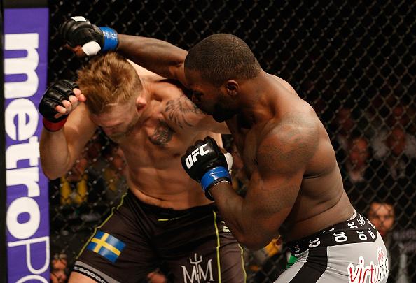 Mais uma vez Johnson mostrou o poder de suas mãos no UFC> Foto: Josh Hedges/Zuffa LLC via Getty Images