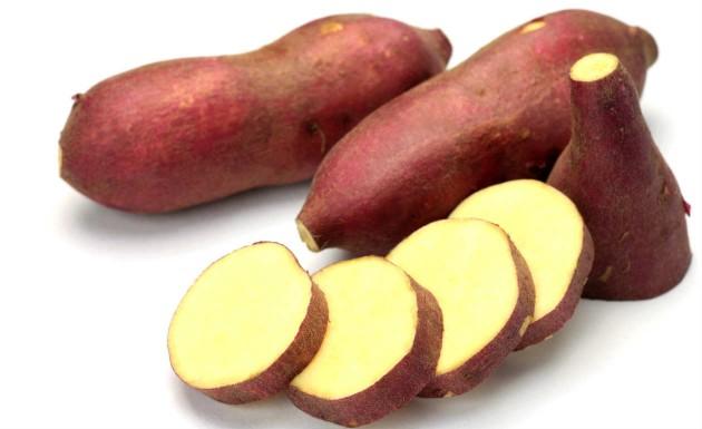 Sweet potato is a healthy food.