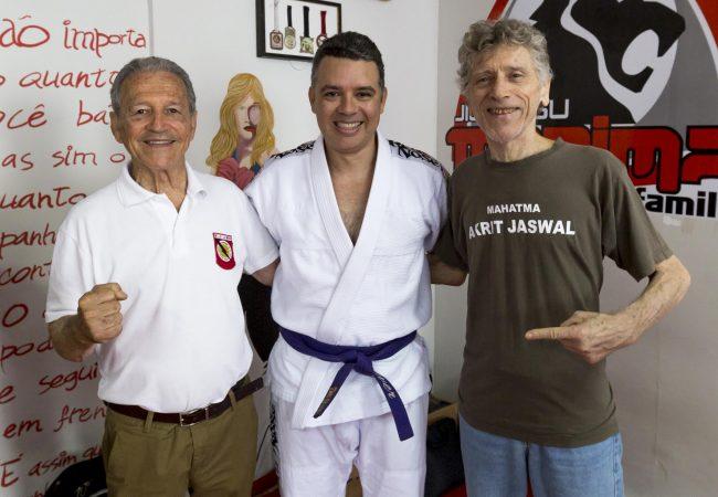 Vídeo: Finte a kimura e estrangule no Jiu-Jitsu com Reyson Gracie