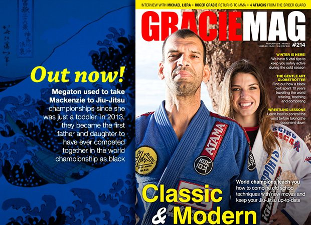 GRACIEMAG #214: Be modern. Honor the classics