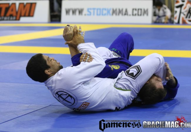 Europeu de Jiu-Jitsu: o armlock de André Galvão na semifinal do absoluto