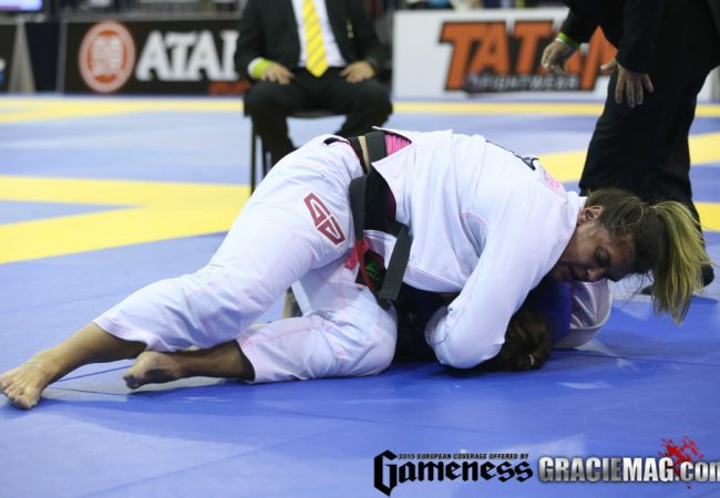 European 2015: Gabi Garcia comments 100% of submissions, invincibility and great shape