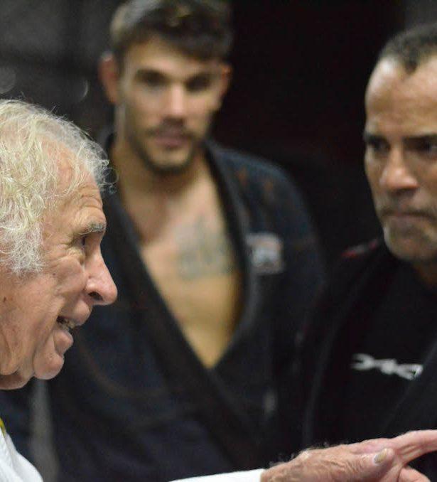 Mestre Armando com Ataide Jr