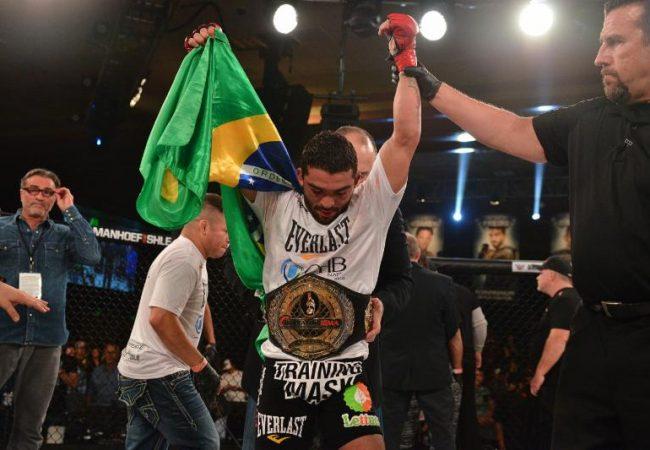 Veja como o Jiu-Jitsu afiado levou Patricio Pitbull a reter cinturão do Bellator