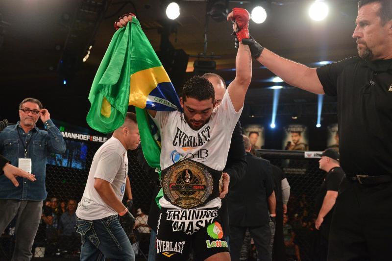 Patrick Pitbull retem cinturao do Bellator em 2015 Foto Divulgacao