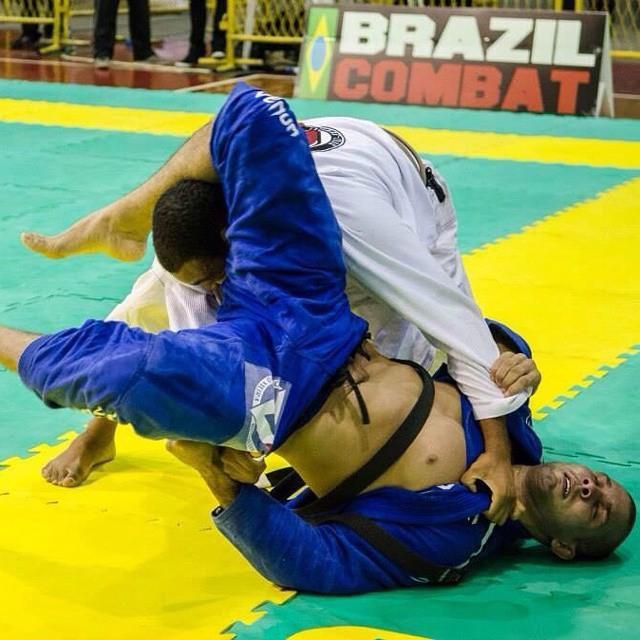 Pedrinho Moura has already made a good fight against Rodolfo Vieira. Photo: Personal Archive