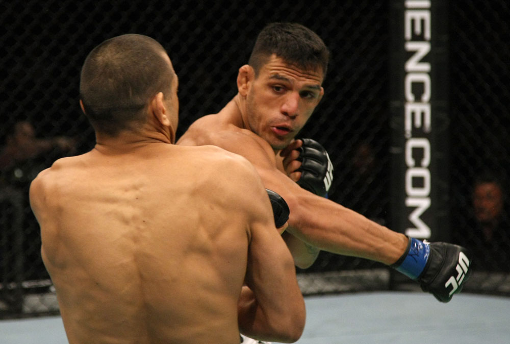 Rafael dos Anjos will compete for the UFC lightweight belt. Photo: UFC