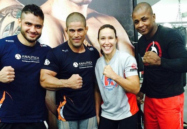 Rousimar Toquinho afia o Jiu-Jitsu de Rick Mosntro para o UFC 183