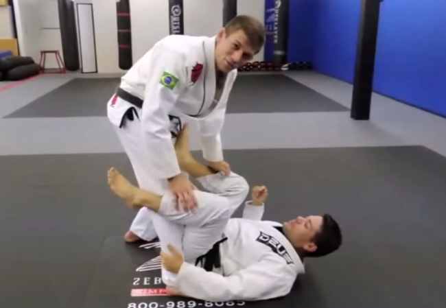 Learn a pass from de la riva straight to an armbar submission with AJ Sousa
