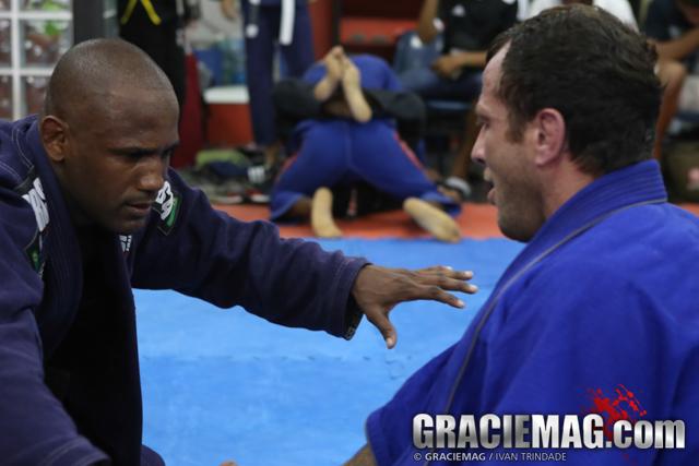 O treininho especial de Jiu-Jitsu de Eduardo Telles e Fernando Tererê no Rio