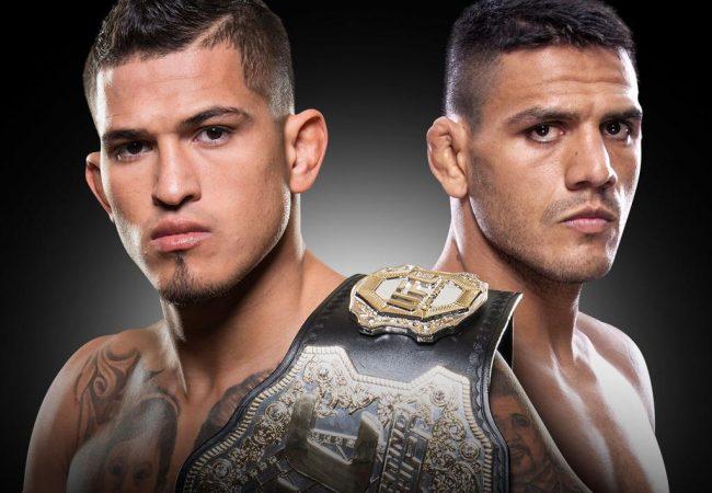 Rafael dos Anjos enfrenta Anthony Pettis pelo cinturão do UFC, em março