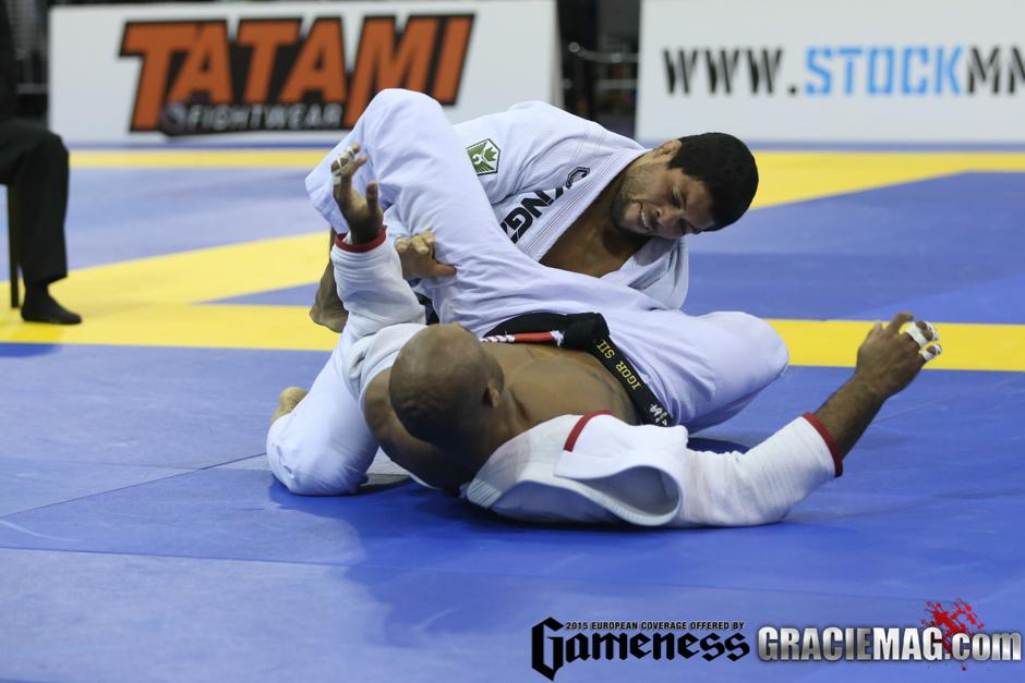 André Galvão foi o grande campeão do Europeu 2015, no ano passado em Portugal. Foto: Ivan Trindade