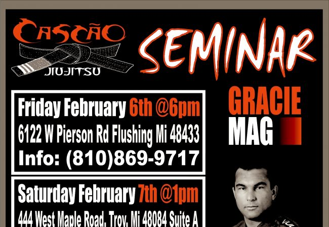 """Learn from Walter """"Cascao"""" Vital in Flushing and Troy, MI on Feb. 6-7"""