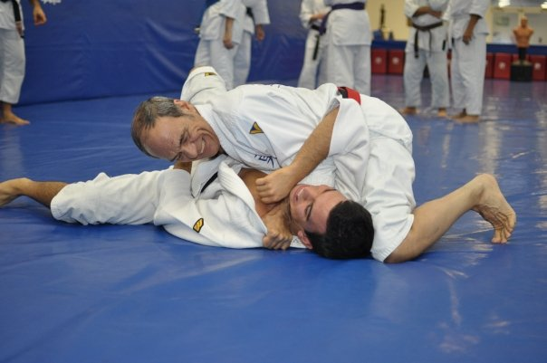 Jiu-Jitsu students over 70 show age is not a limit at Valente Brothers
