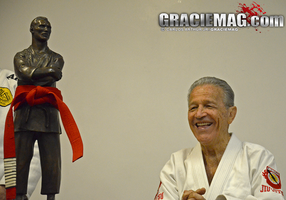 Patriarch: Robson is now the oldest Gracie still alive. Photo: Carlos Arthur Jr. / GRACIEMAG