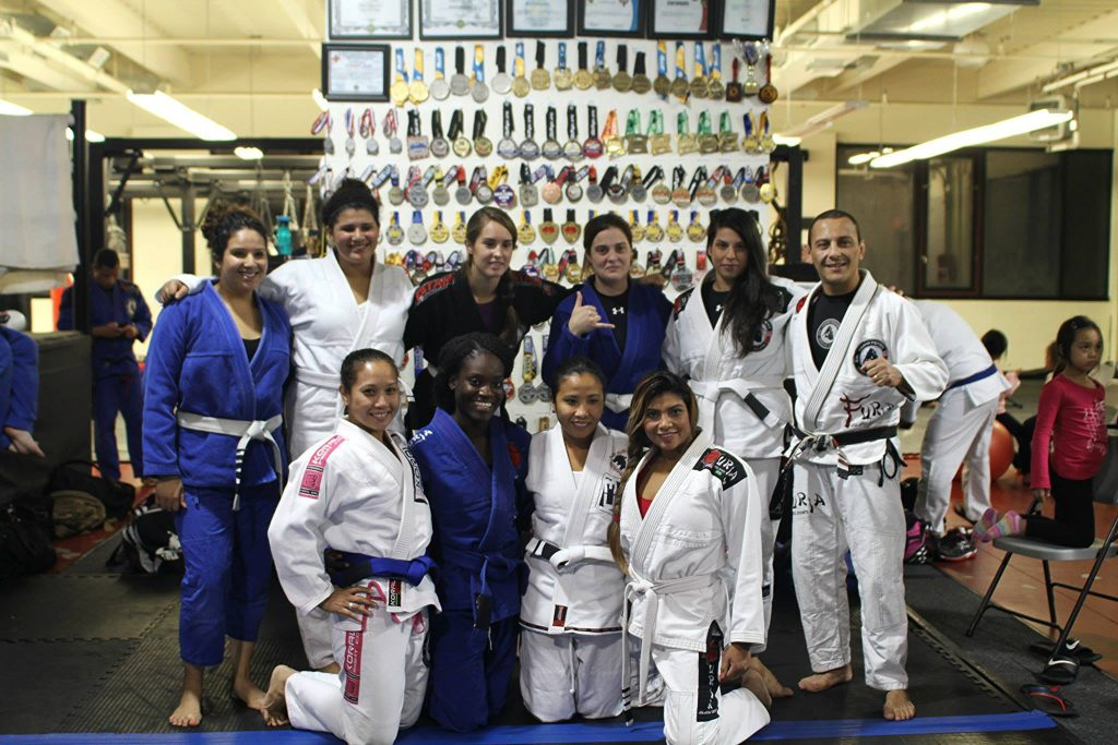 Some of the women at GMA C3 Athletics/Cesar Pereira. Photo: Personal archive