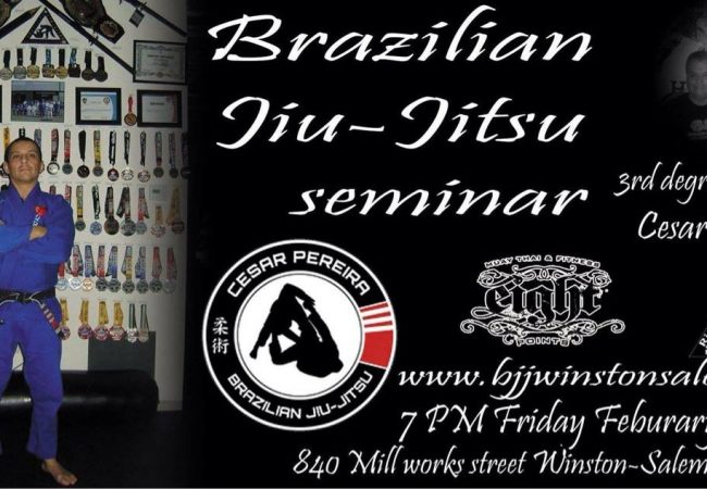 Catch Cesar Pereira in Winston-Salem, NC for a seminar on Friday, Feb. 13