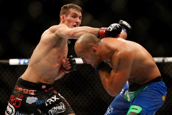 MacDOnald e Lawler já se enfrentaram no UFC. Foto: Josh Hedges/Zuffa LLC via Getty Images