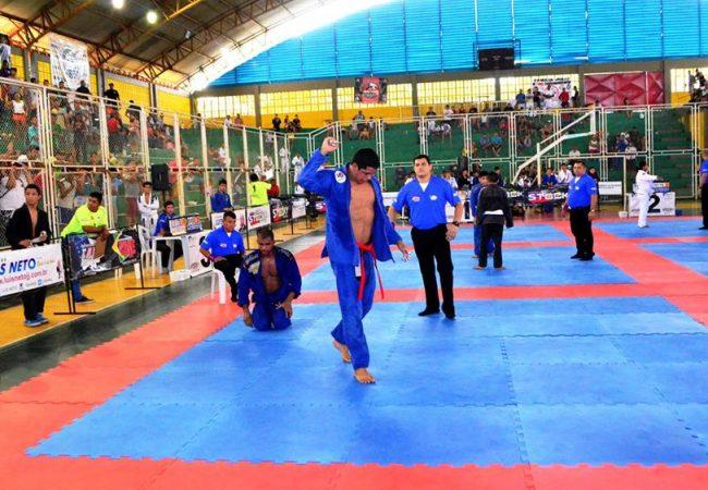 Veja como Erberth Santos foi surpreendido no Jiu-Jitsu em Manaus