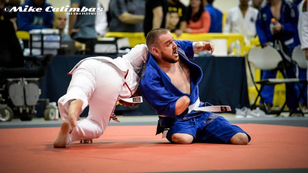 In addition to the black belts, an American white belt stole the show in Houston after facing the tournament despite the triple amputation. What's your excuse not to workout? Photo: Mike Calimbas
