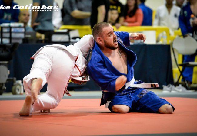 Houston Open: a aula de superação de  um lutador de Jiu-Jitsu amputado