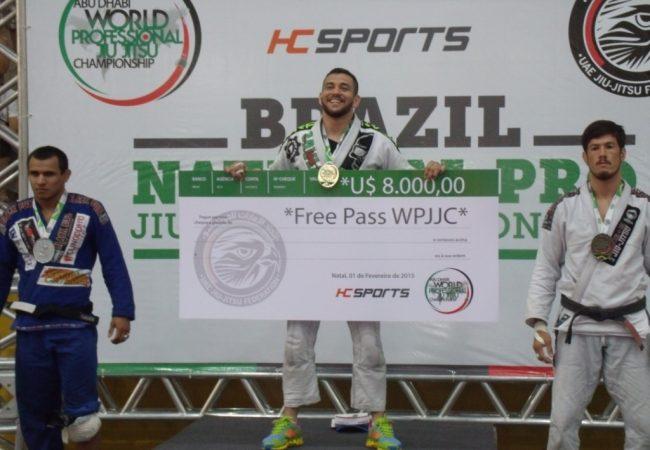 Jiu-Jitsu: Renato Cardoso reina no Brazil National Pro, em Natal