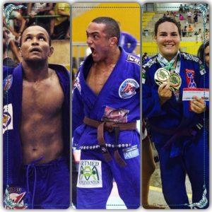 Leonardo Souza, Jhon Lennon e Fabiana de Madeiros venceram na seletiva. Foto: Reprodução