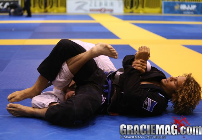 Video: Magid Hage submits to win gold at the San Francisco Open