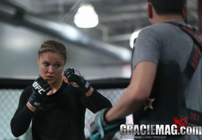 UFC 184 open workouts: Rousey ready for Zingano; fires against Cyborg, Celeste