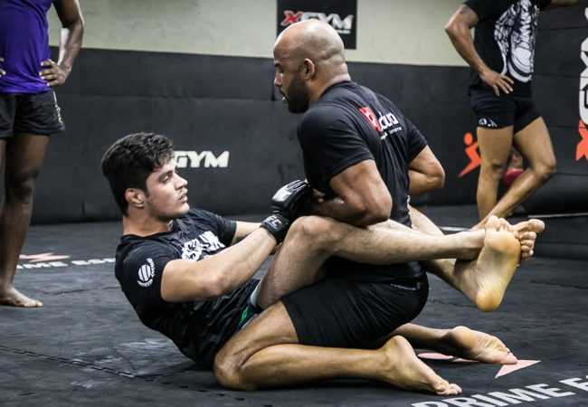 Ex-TUF, Peregrino mira finalização e vencer com o Jiu-Jitsu no Face to Face