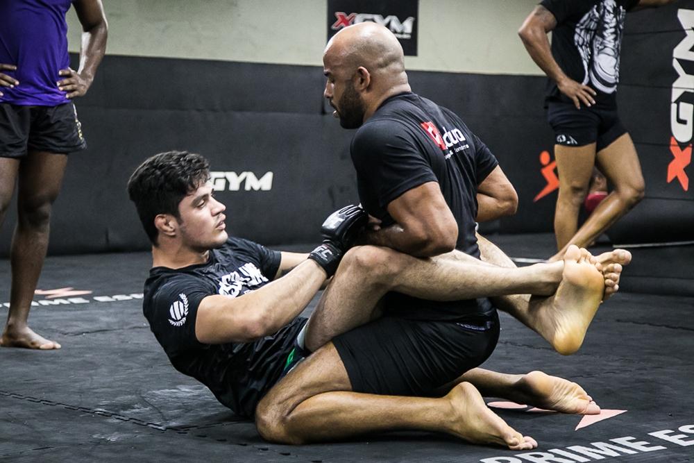 Peregrino, ex TUF Brasil, busca no Jiu-Jitsu o atalho para a vitória. Foto: Divulgação