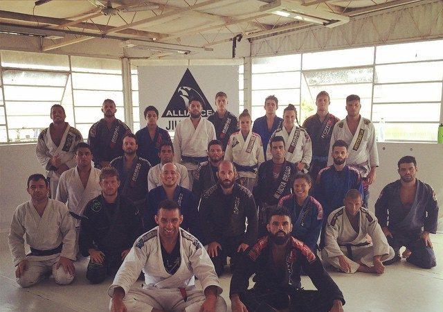 Veja o treininho de Jiu-Jitsu entre Mario Reis e Fabrício Werdum