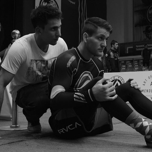 Rafael Mendes e Gui na Chechenia em superlutas de Jiu Jitsu Foto Divulgacao