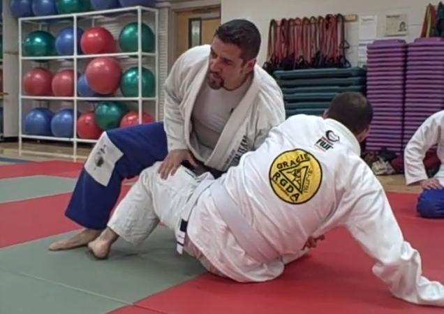 Video: Armando Basulto teaches a back-take counter to the hip bump sweep