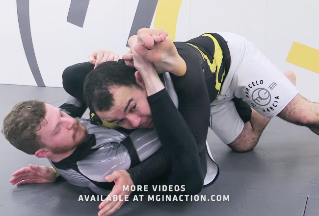 Video: Marcelo Garcia teaches how to escape and pass the rubber guard