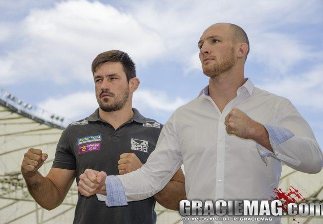 """Adversário de Demian no UFC, LaFlare dispara: """"Ele é bom de Jiu-Jitsu? Eu também"""""""