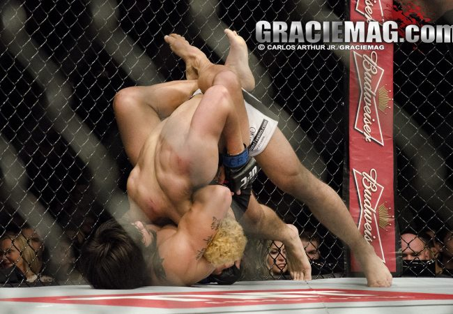 Jiu-Jitsu: A guilhotina de Erick Silva no veterano Koscheck, no UFC Rio