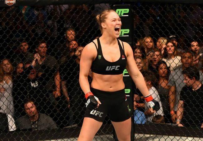 Ronda Rousey finaliza Cat Zingano no braço em 14s no UFC 184