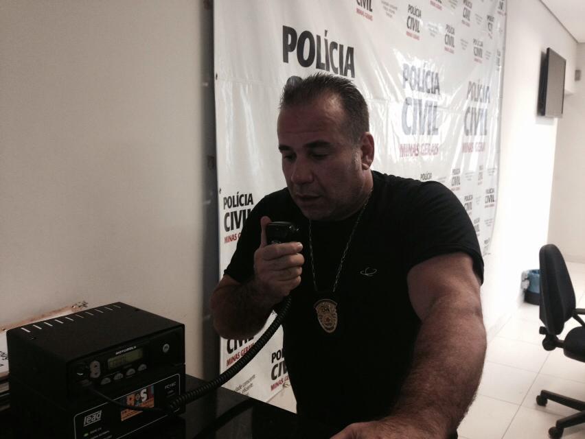 Peposo, policial bom de Jiu-Jitsu. Foto: arquivo pessoal