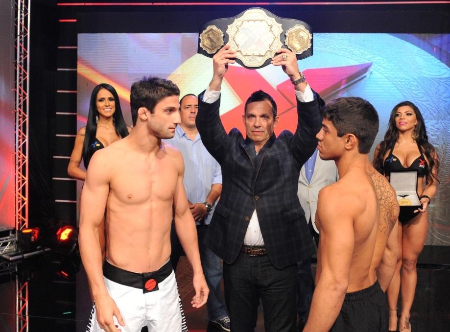Alan Puro-Osso e Bruno Macaco fazem a luta principal do XFC. Foto: Marcelo Franco/Fusion Photography